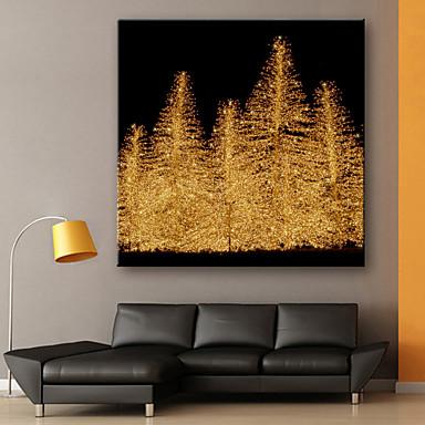 e home stretched led canvas print art christmas tree christmas series led flashing optical. Black Bedroom Furniture Sets. Home Design Ideas