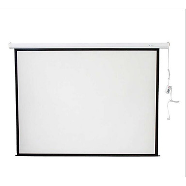 Household electric screen 100 inch 4 3 hd projector screen for 100 inch motorized projector screen