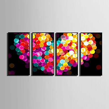 Buy Abstract / Fantasy Framed Canvas Set Wall Art,PVC Black Mat Frame Art