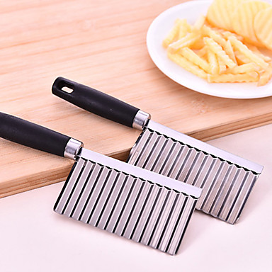 Kitchen Supplies Wave Shaped Potato Cutter Cutting Tool
