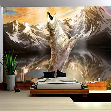 art deco 3d tapete f r privatanwender zeitgen ssisch wandverkleidung leinwand stoff. Black Bedroom Furniture Sets. Home Design Ideas