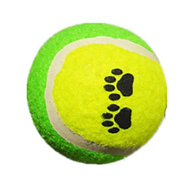 Perros juguetes para mascotas bola pelota de tenis verde for Bola juguete