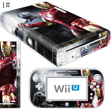 Buy B-Skin® Decal Skin Sticker (High Gloss Coating) Nintendo Wii U Console + Controller Device(Assorted Pattern)