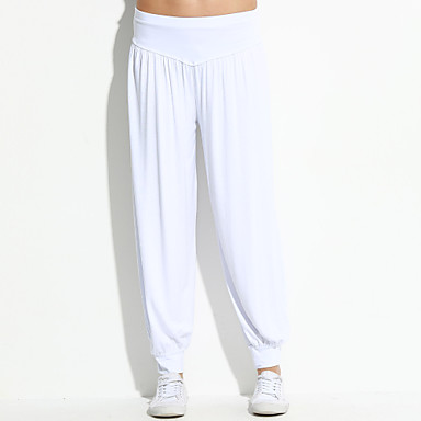 Women's Loose Sweatpants Pants Solid Low Rise Spandex Stretchy All Seasons