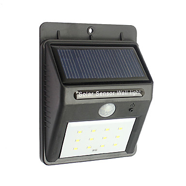 Solar Light URPOWER 12 LED Outdoor Solar Powered Wireless Waterproof Security Motion Sensor Light Night Lights