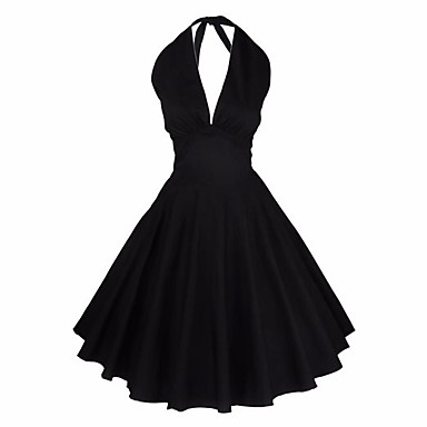 Women's Going out Party Club Vintage Simple Cute A Line Sheath Dress,Solid Round Neck Above Knee Sleeveless Cotton Linen ModalSpring
