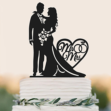 Mr And Mrs Thompson Cake Topper