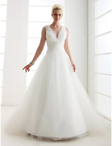 Lanting Bride® Princesse Petites Tailles / Grandes Tailles Robe de ...