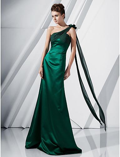 Vestidos longos verdes