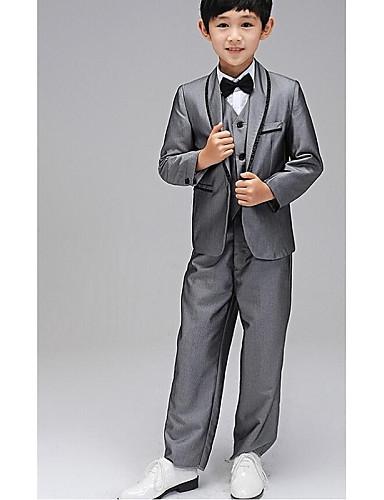 Buy Uniform Cloth Ring Bearer Suit - 5 Pieces Includes Jacket / Shirt Vest Pants Bow Tie