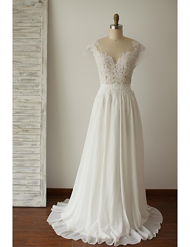 A line plus sizes petite wedding dress chic modern for Wedding dresses petite sizes