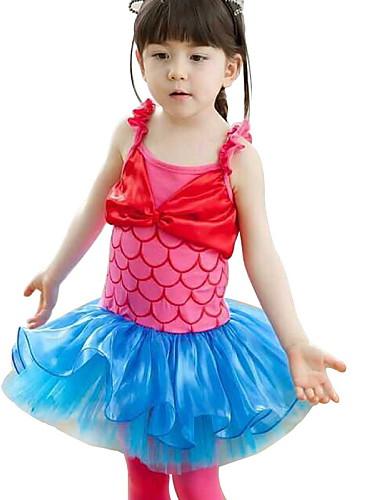 Buy Children Girl's Princess Halloween Mermaid Cosplay Costume/Ballet Tutu Dress/Dancewear Headband 2~8 Y