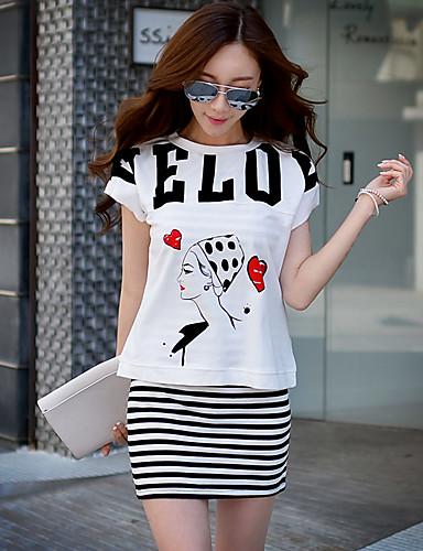 Buy Pink Doll® Women's Striped Print Round Neck Sleeveless Knee Dress-X15BDR027