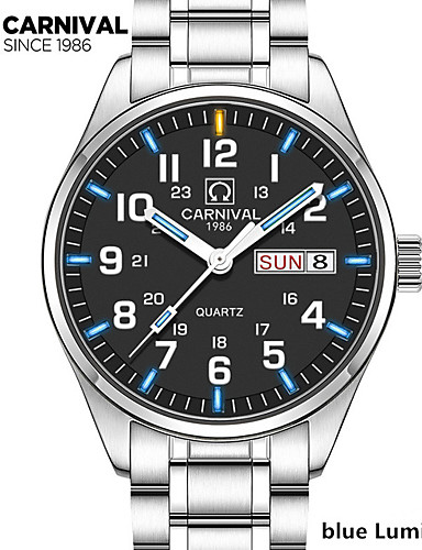 162771100de KronoReview  Carnival Tritium 8638G Day Date Watch