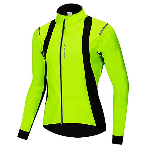Men Winter Cycling Jacket Cotton Bike Jackets Thickening Jerseys Fleece Santic
