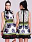 TS Persian Printed Sheath Dress
