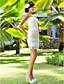 Lanting Bride® Sheath / Column Petite / Plus Sizes Wedding Dress - Chic & Modern / Glamorous & Dramatic / ReceptionVintage Inspired /