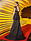 TS Couture® Formal Evening / Military Ball Dress - Vintage Inspired Plus Size / Petite Trumpet / Mermaid Straps Sweep / Brush TrainLace / Stretch