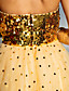 TS Couture Prom Formal Evening Dress - Sparkle & Shine A-line Sweetheart Floor-length Tulle Sequined with Sequins