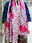 여성제품 빈티지 / 귀여운 / 캐쥬얼 면 스카프-직사각형 프린트