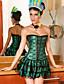 Serre Taille / Corset / Robes Corset / Set de Corset / Grande Taille Vêtement de nuit Femme,Sexy / Push-up / Imprimé / Rétro Jacquard-