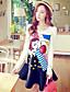 Rose Doll® Femme Col Arrondi Manche Longues Au dessus des genoux Robes-X14CDR434