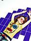 liangsanshi kvinders afslappet / daglig simple sommer t-shirt, udskrive rund hals kortærmet gul polyester medium