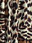 Femme Grandes Tailles Jupes LéopardTaille Haute Bohème Maxi Décontracté / Quotidien Polyester Elasthanne Elasticité Extensible Eté