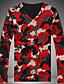 Herren Pullover Lässig/Alltäglich Einfach Street Schick Solide Rundhalsausschnitt Mikro-elastisch Baumwolle Kunstseide Langarm Frühling