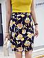 Damen Street Schick Ausgehen Lässig/Alltäglich Knielänge RöckeBlumig Blumen Sommer