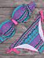 Womens Vintage Tribal Boho Diamond Swimsuit Bikini