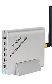 2,4 fire-kanals trådløs modtager
