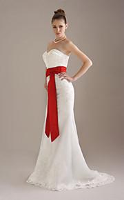 mariage au genou / mariée ceinture ruban (fsd0242)