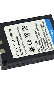 Digitale camera Batterij van li10b/li-12b voor Olympus Camedia C-5000 zoom / Olympus Stylus 1000 (09.370.126)