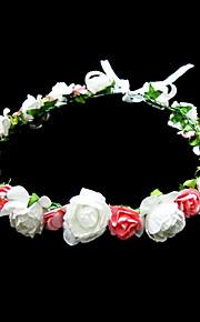 Femme / Jeune bouquetière Papier Casque-Occasion spéciale / Décontracté Fleurs