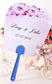 Plastique Ventilateurs et parasols Pièce / Set Eventail Thème floral Lilas 27cmx21.5cmx1.5cm