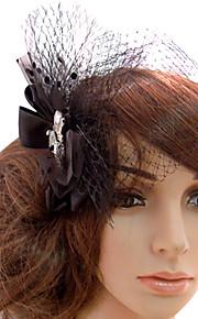 Vrouwen Tule Helm-Bruiloft Speciale gelegenheden Informeel Buiten Fascinators