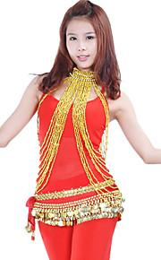 polystyren danseforestilling halskæde / lang krop kæde (flere farver)