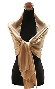 elegante zijden bruiloft / speciale gelegenheid sjaal / sjaal (meer kleuren)