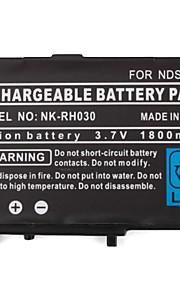oplaadbare batterij pack met schroevendraaier voor Nintendo DS, DS Lite, DSi (3.7V, 1800mAh)