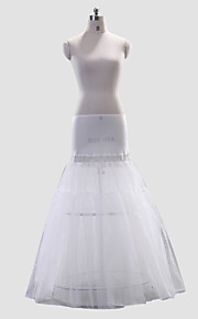 Plénitude A-Line/Medium Polyester Full-Length Style de glissement de mariage / Petticoat