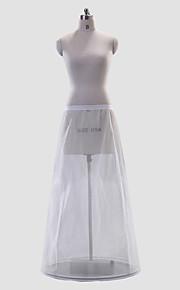 Polyester superbe A-Line Full-Length Style de glissement de mariage / Petticoat