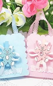 Baby Shower/Verjaardag Party Favors & Gifts # Bedank Tassen Geweven Stof Klassiek Thema Niet-gepersonaliseerd Roze/Blauw