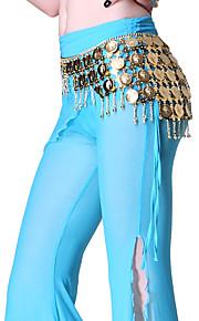 dancewear metaal met munten buikdans prestaties riem voor dames