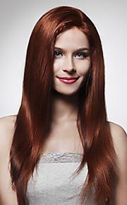"""volledig kant met stretch op de kruin modekleur zijdeachtige straight 22 """"indian remy hair 26 kleuren om uit te kiezen"""