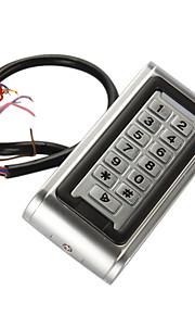 Metalen Waterproof Accesscontroller (1200 gebruikers, ingebouwde proximity kaartlezer)