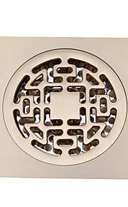 Bathroom Accessory Antique Brass Finish Solid Brass Floor Drain-LK-1043