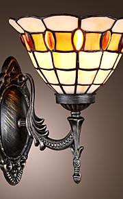 PEACH - Wandlampe Tiffany mit 1 Glühbirne
