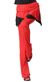Dancewear Velvet Latin Dance Bottom voor dames meer kleuren