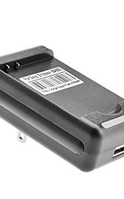 EE.UU. cargador de baterías con salida USB para Sony Ericsson BA800 (4.2v/5.2v)